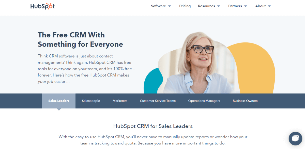 HubSpot Free CRM Software for Small Businesses