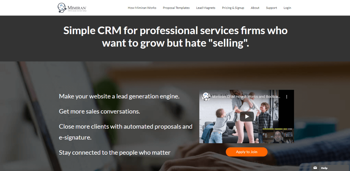 Mimiran - Best CRM Software for Small Businesses