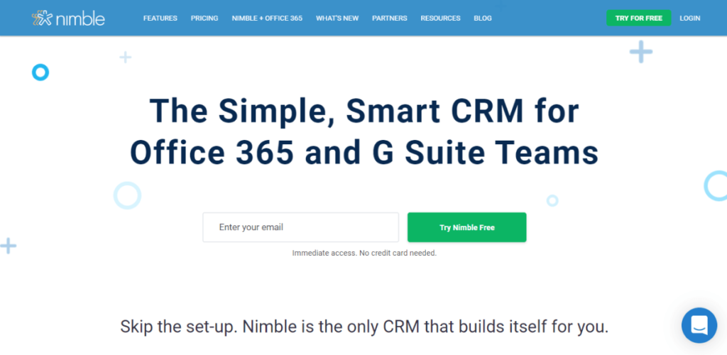 Nimble - Best Small Business CRM Software