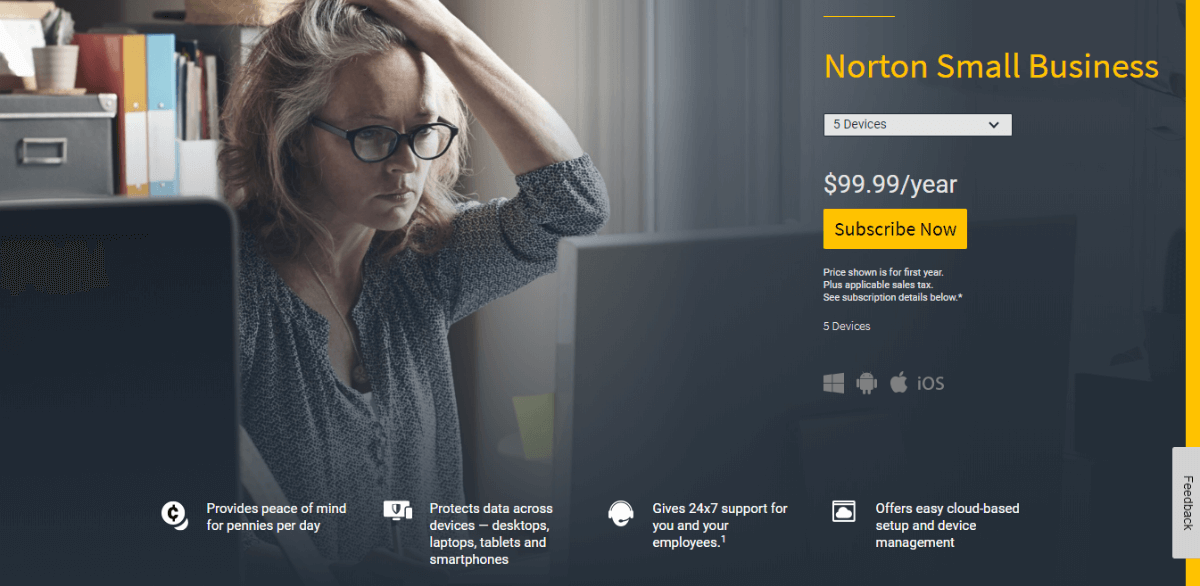Norton Small Business Firewall Antivirus