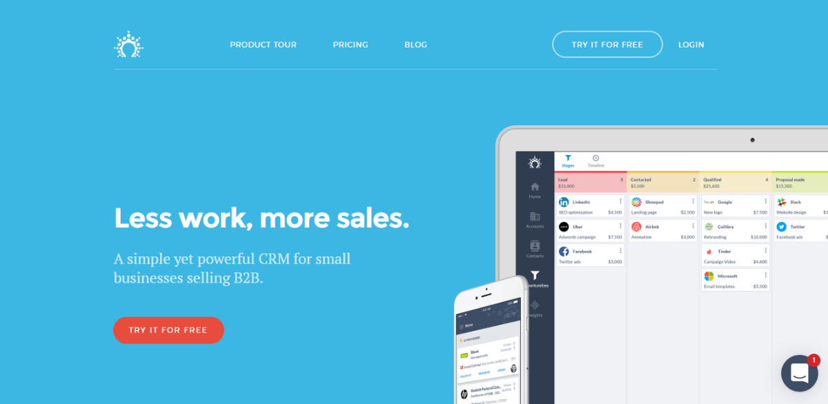 Salesflare - Best Small Business CRM Software b2b