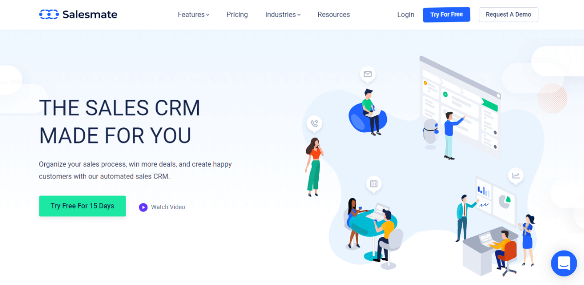 Salesmate - Sales CRM Software for Small Businesses