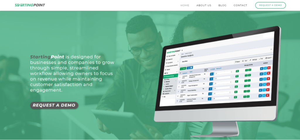 StartingPoint - Best CRM Software for Small Businesses