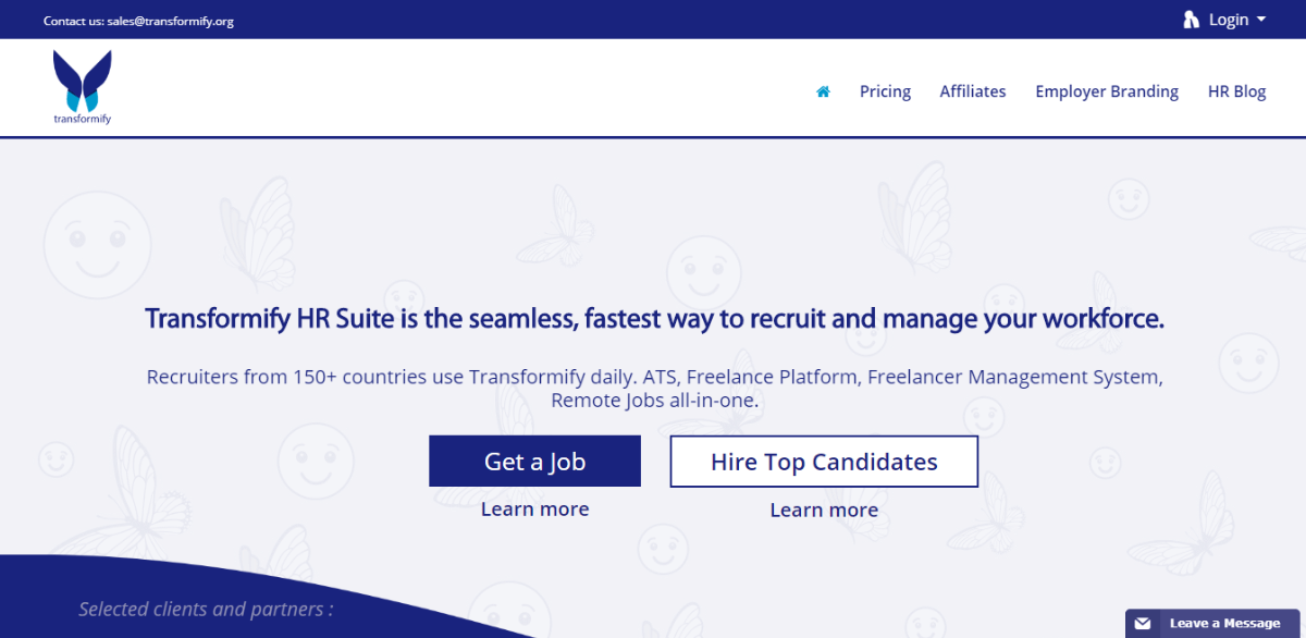 Transformify HR Suite - Best Small Business CRM Software