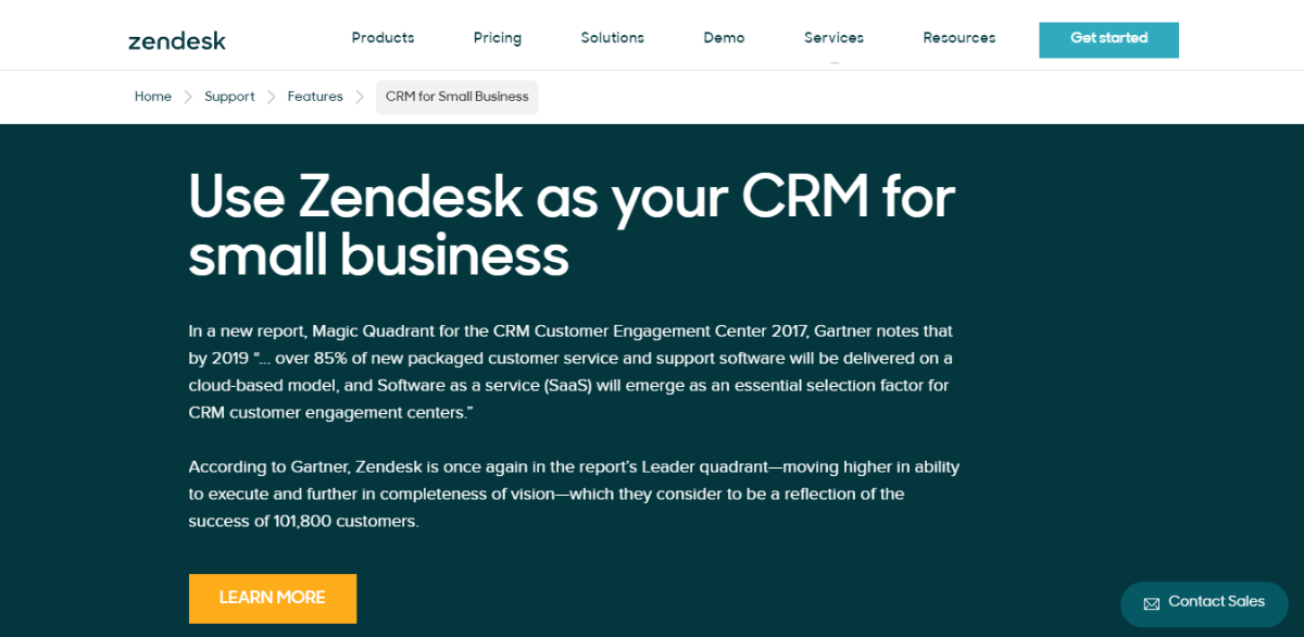 Zendesk - CRM for Small_Business