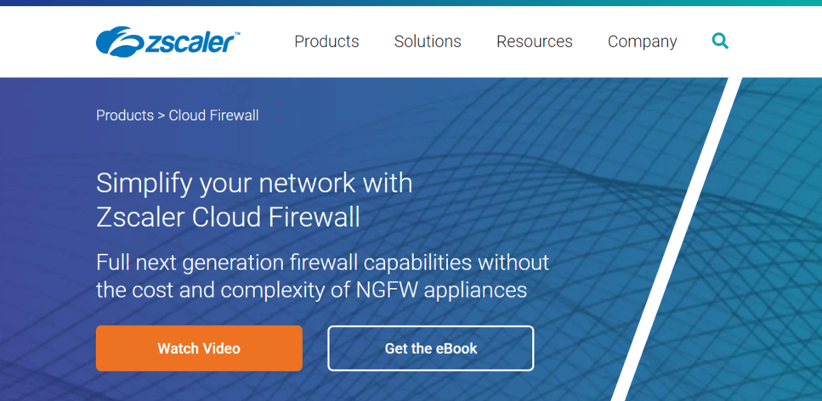 Zscaler Cloud Firewall: Best cloud-based firewall
