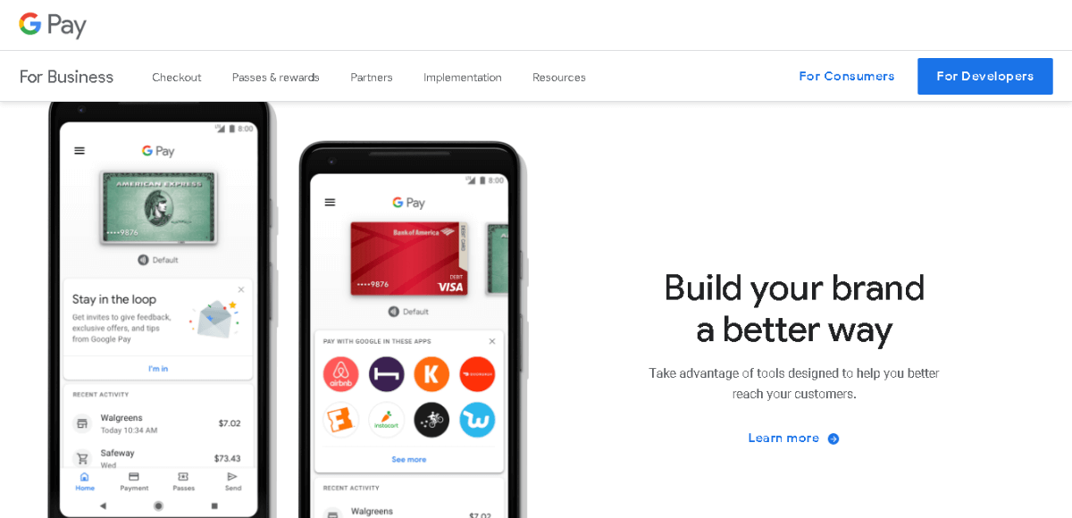 Google Pay - PayPal alternatives for SMBs