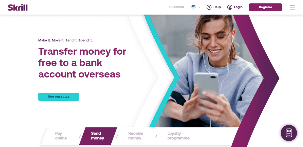 Skrill - PayPal alternatives for International Transactions SMBs