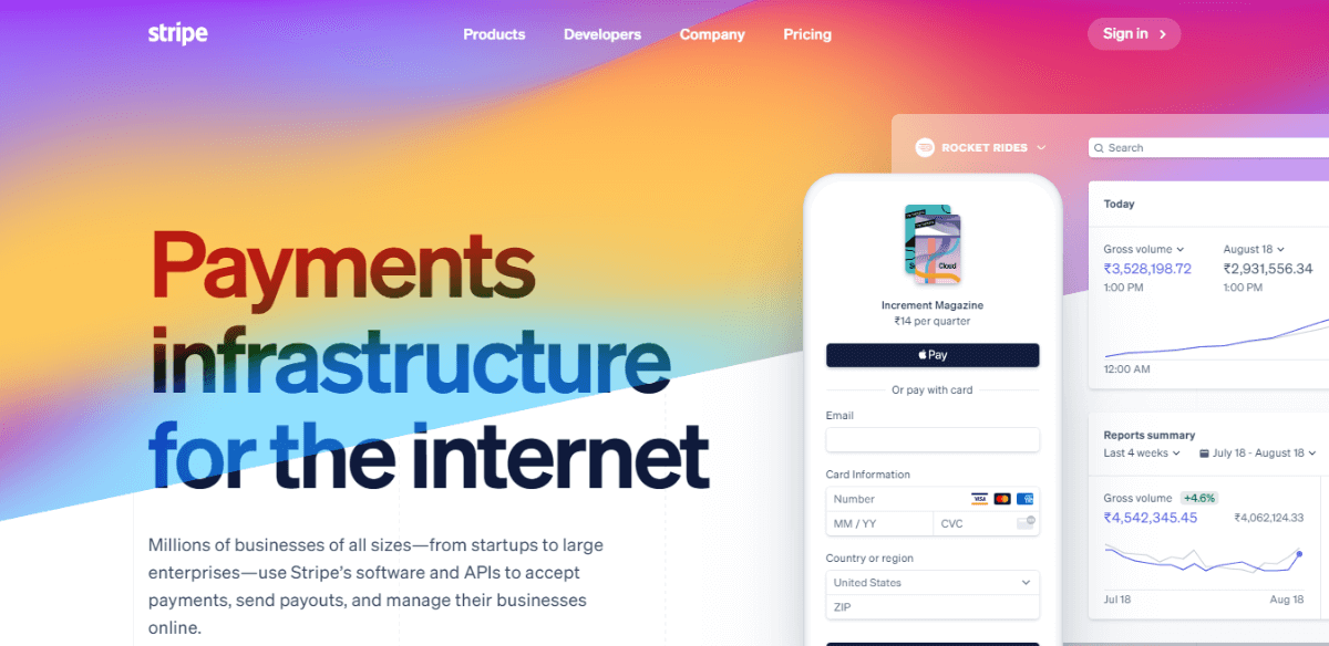 Stripe - PayPal alternatives for International Transactions