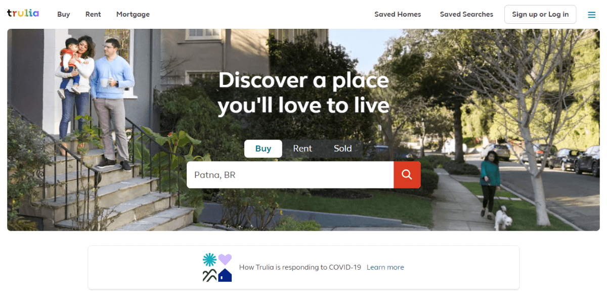 Trulia - Best Sites for Listing your Apartment or Home for Rent
