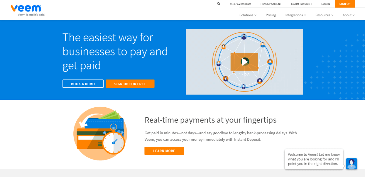 Veem - PayPal alternatives for International Payments SMBs