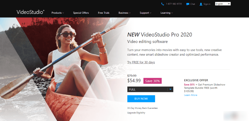 Corel VideoStudio - best video editing software
