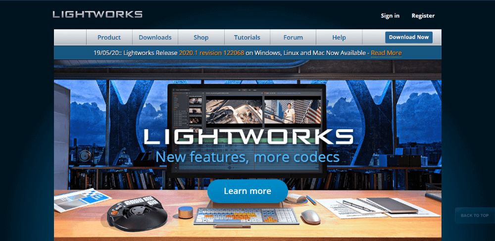 Lightworks - professional video editing software