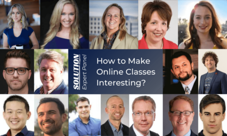 Strategies to Make Online Classes Interesting