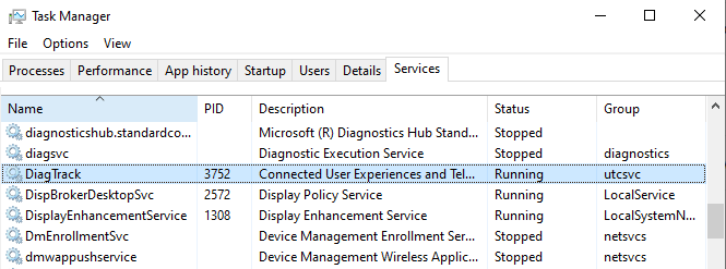 Disable the DiagTrack Service to fix the Steam download stopping issue