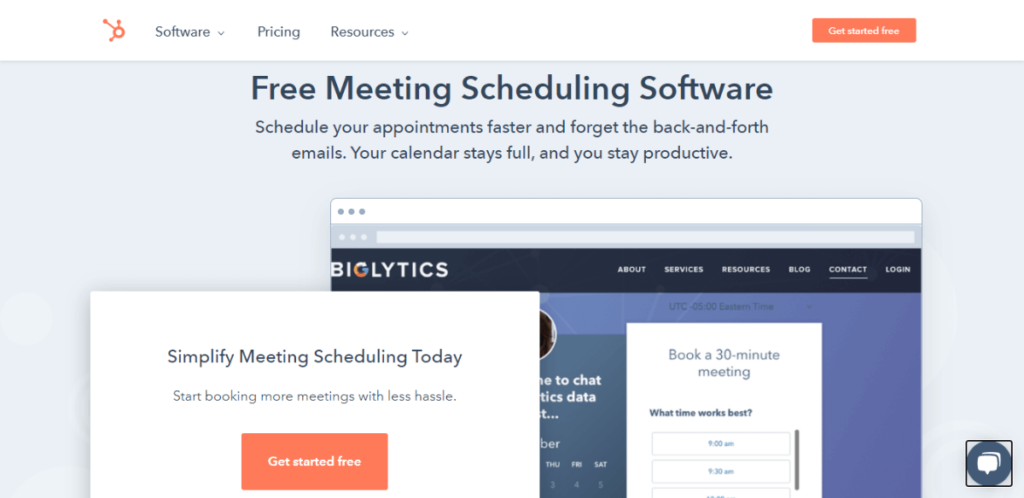 HubSpot Meetings - Calendly Alternative for Free Appointment Meeting Scheduling