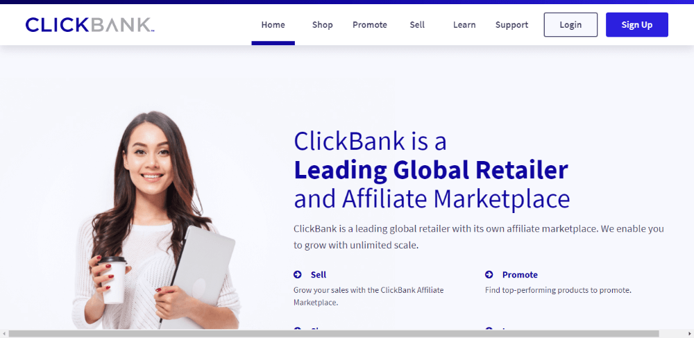 ClickBank - Best Affiliate Networks for Beginners