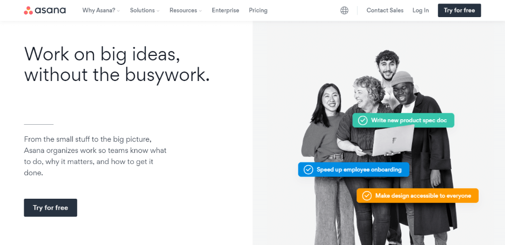 Asana - Clubhouse Alternatives and Competitors
