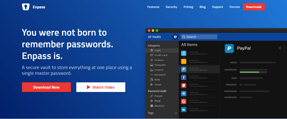 Enpass LastPass alternative Password-Manager for iOS Android Linux Windows Mac