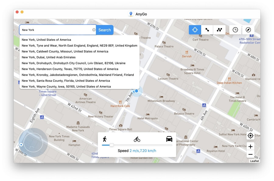 How to Teleport to Anywhere using AnyGo iPhone Location Spoofer