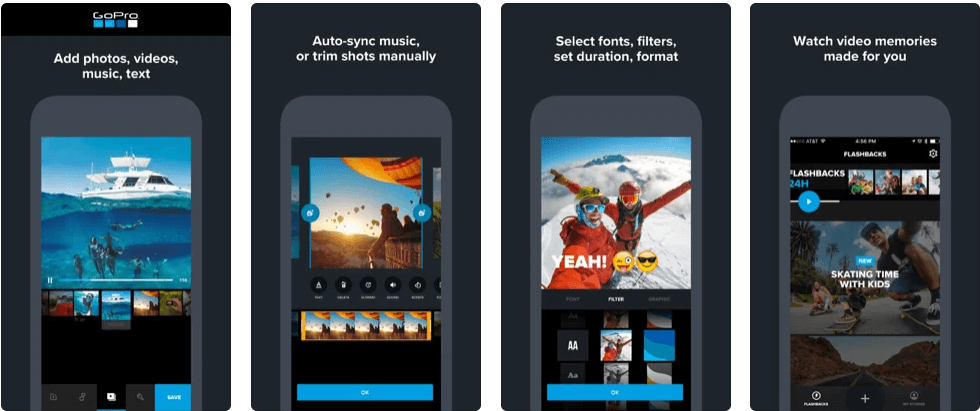 Quik-GoPro - Best Video Editing Apps for iPhone