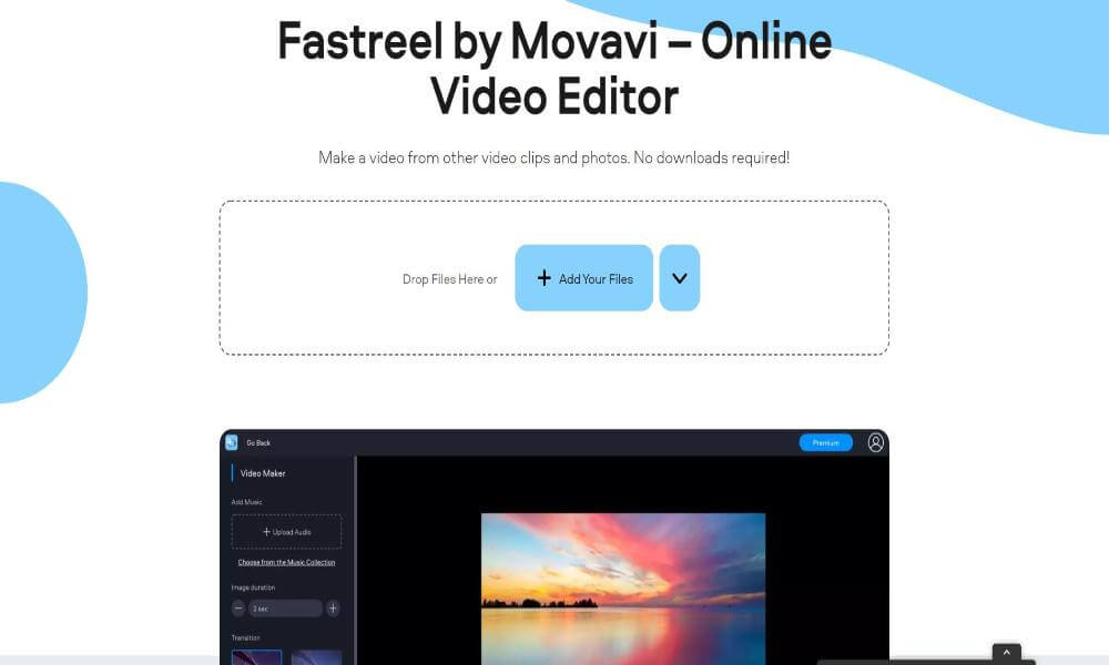 Upload your files - fastreel