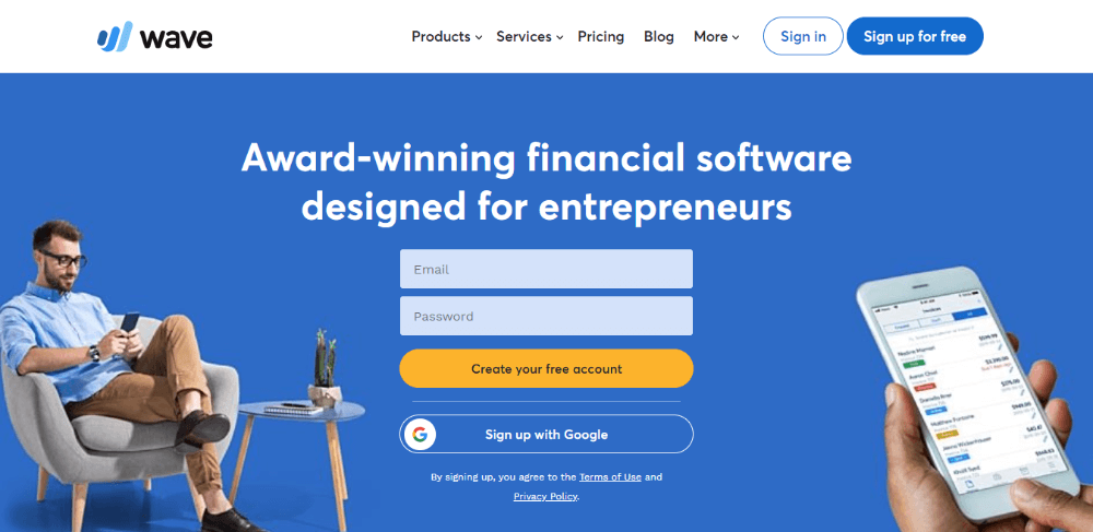 Wave Financial - FreshBooks Competitors - Accounting and Invoicing