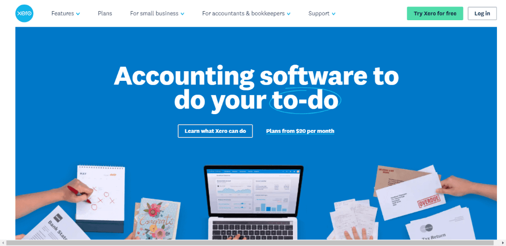 Xero - FreshBooks Competitors - Online Accounting Software