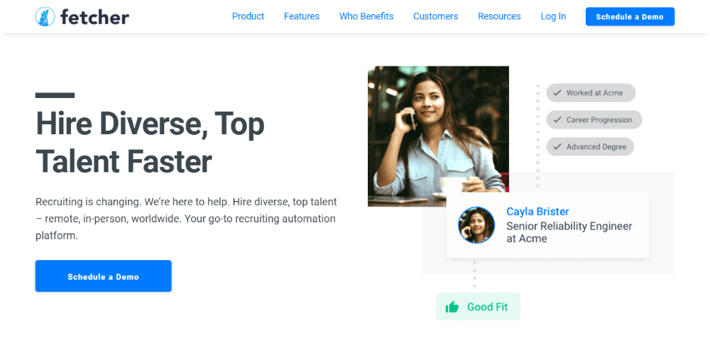 Fetcher - Best Recruiting Software for Small Businesses and Agencies