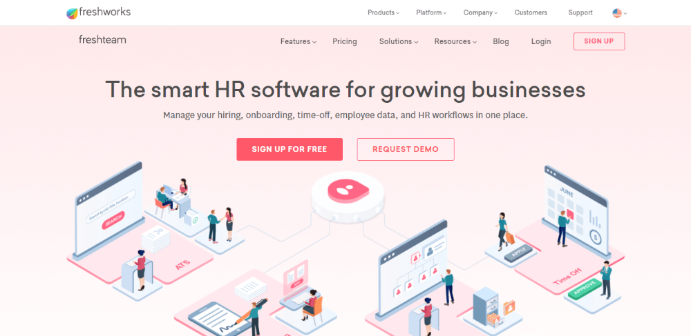 Freshteam - Best Recruiting Software for Small Businesses