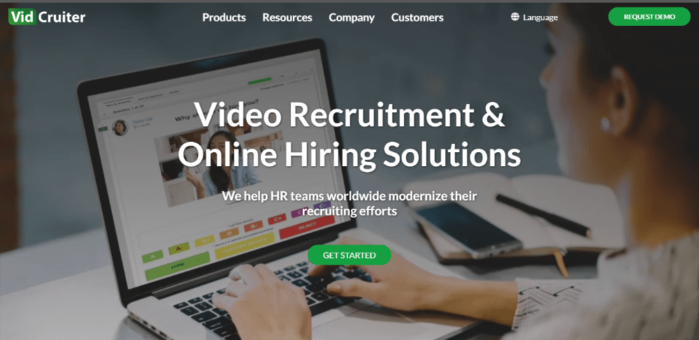 VidCruiter - Best Recruiting Software for Small Agencies