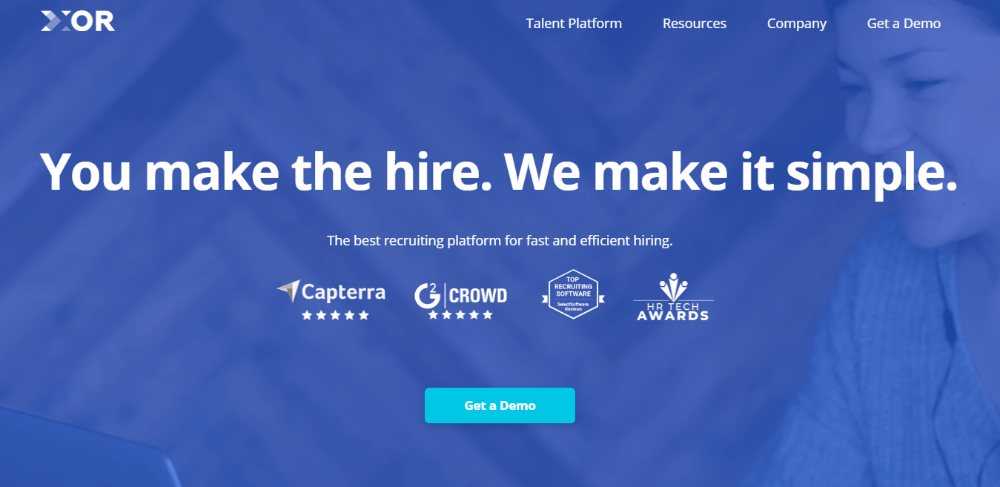 XOR - AI Recruiting Software for Small Business