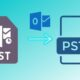 Convert an OST to a PST file in Outlook