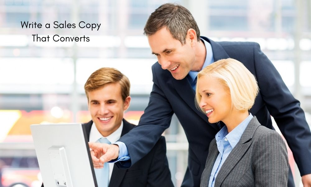 How Do You Write a Sales Copy That Converts