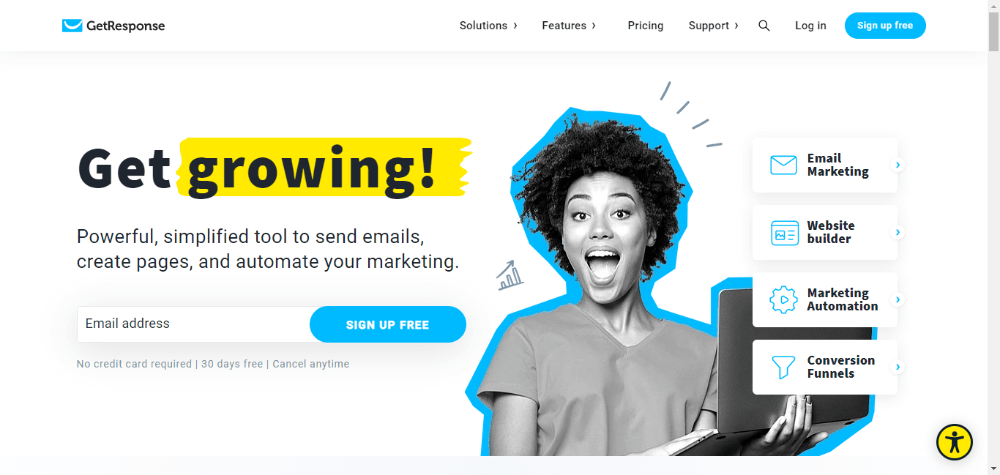 GetResponse - Best Email Marketing Software for Beginners